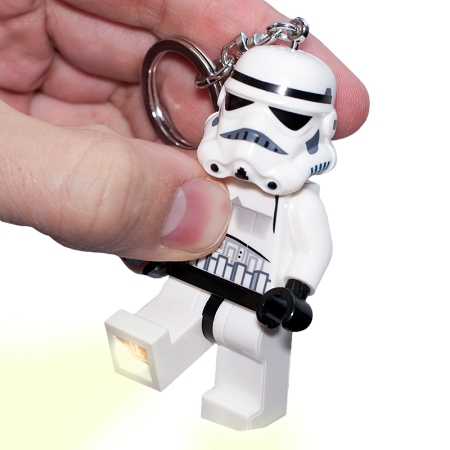 Gag Gifts - Star Wars Lego Light Up Keychains