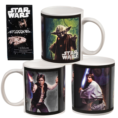 Gag Gifts - Star Wars Mugs & Hot Cocoa (2 pack)