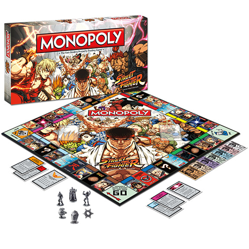 Gag Gifts - Street Fighter Monopoly