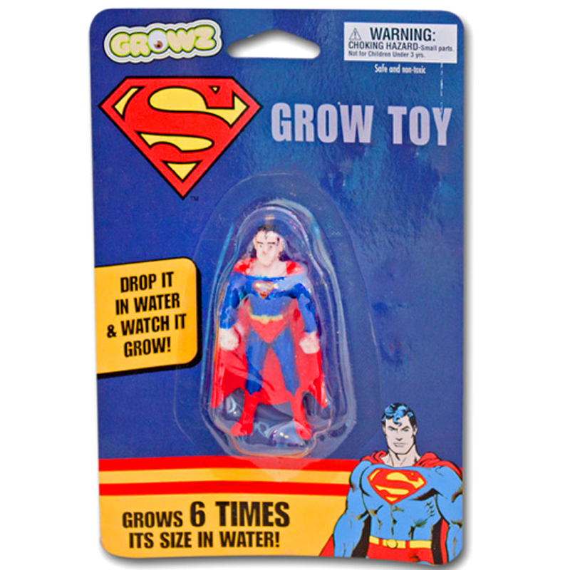 Gag Gifts - Superman Grow Toy