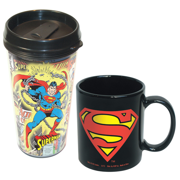 Gag Gifts - Superman Mug Set