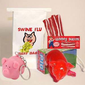Gag Gifts - Swine Flu Survival Kit