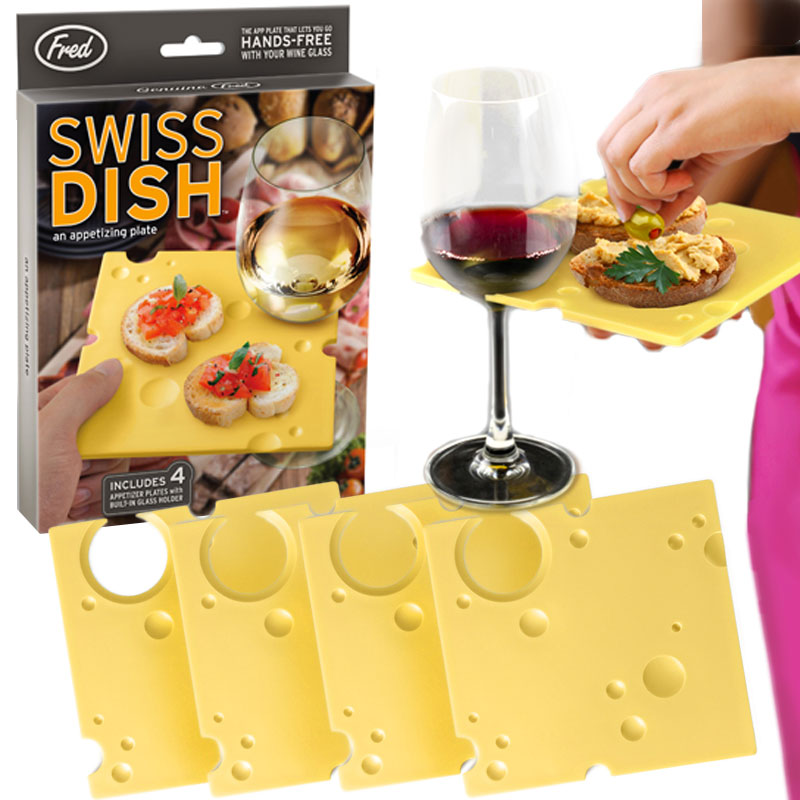Gag Gifts - Swiss Dish Party Trays