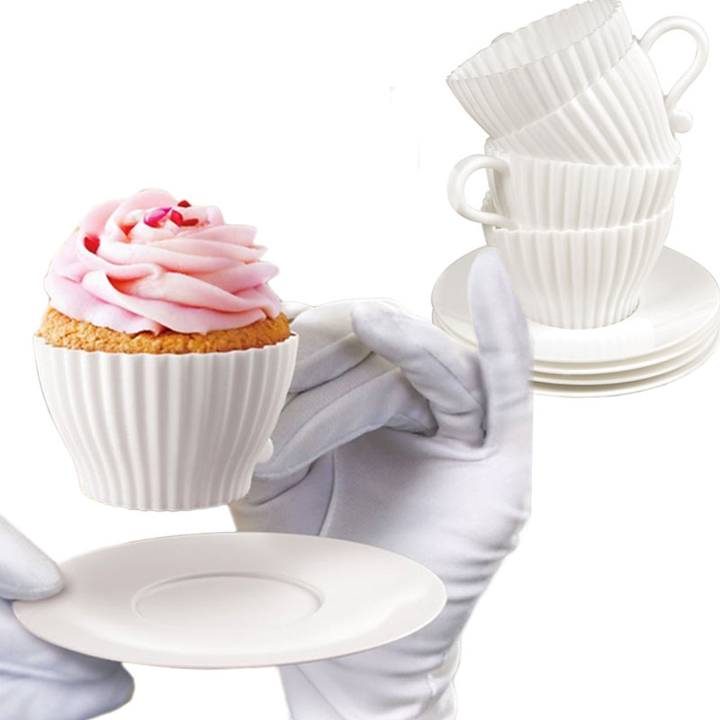 Gag Gifts - Teacup Cakes Cupcake Holders