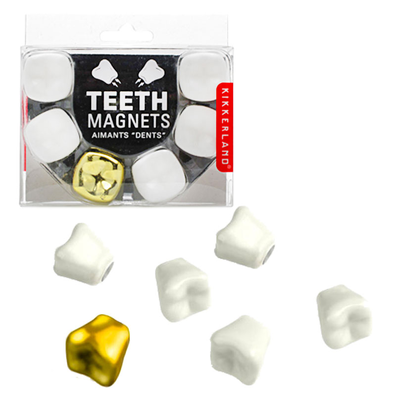 Gag Gifts - Teeth Magnets