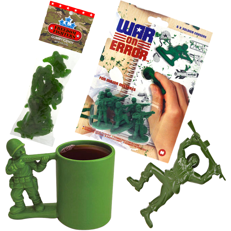 Gag Gifts - The Army Man Collection