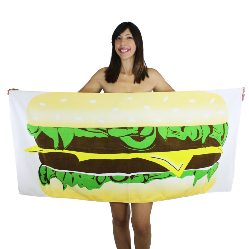 Gag Gifts - The Burger Towel