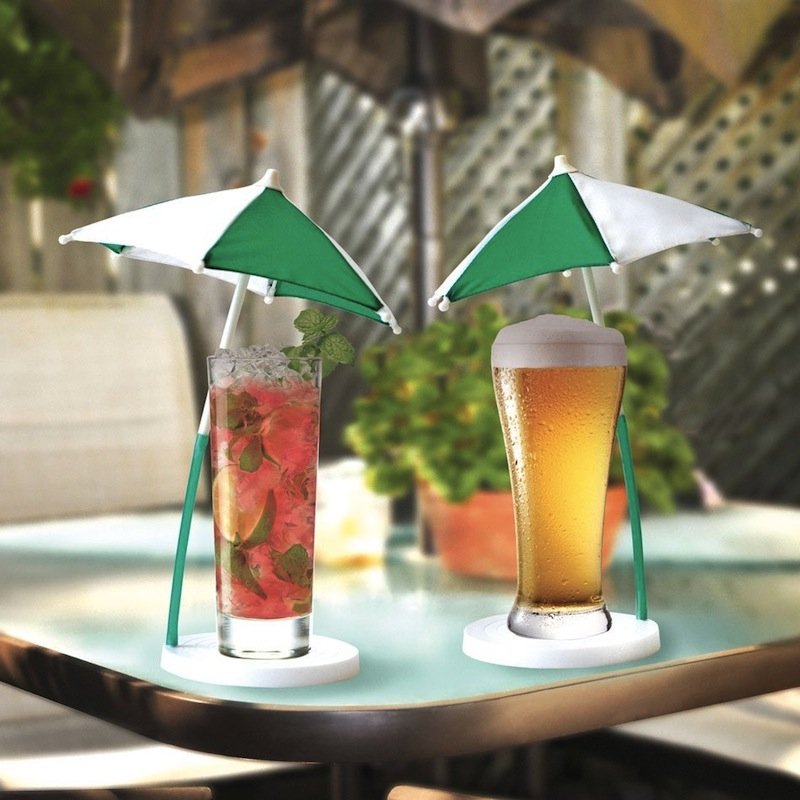 Gag Gifts - The Cocktail Umbrella and Coaster Set 2 PK