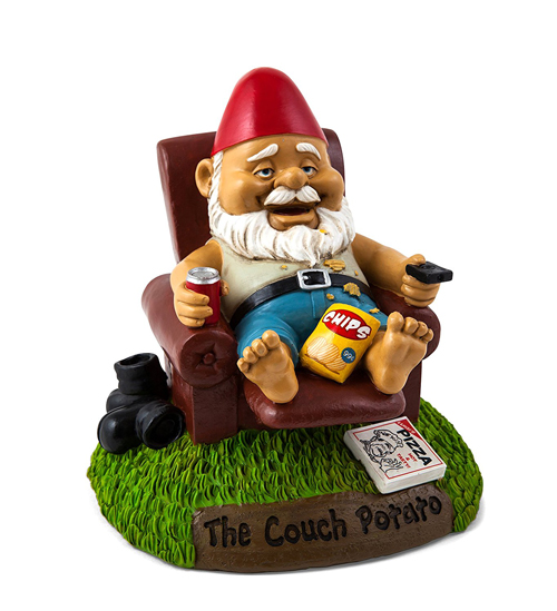 Gag Gifts - The Couch Potato Gnome