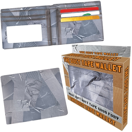 Gag Gifts - The Duct Tape Wallet
