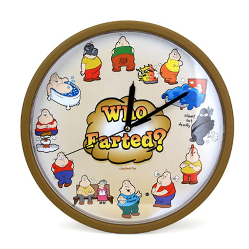 Gag Gifts - The Fart Clock