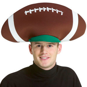 Gag Gifts - The Football Hat