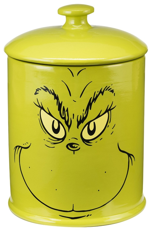Gag Gifts - The Grinch Cookie Jar
