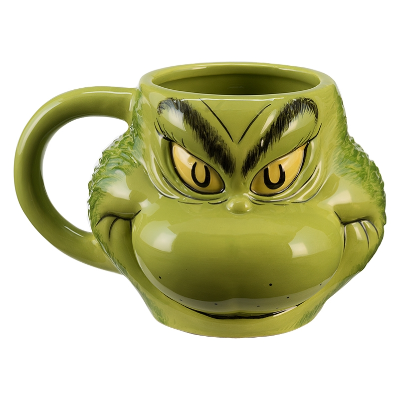 Gag Gifts - The Grinch Scultped Mug