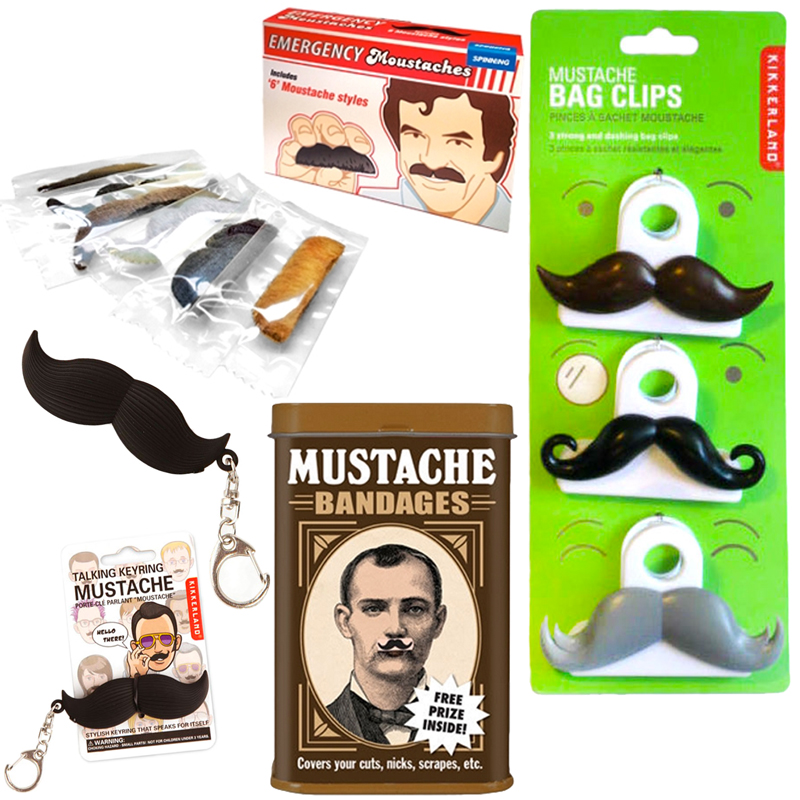 Gag Gifts - The Mustache Collection
