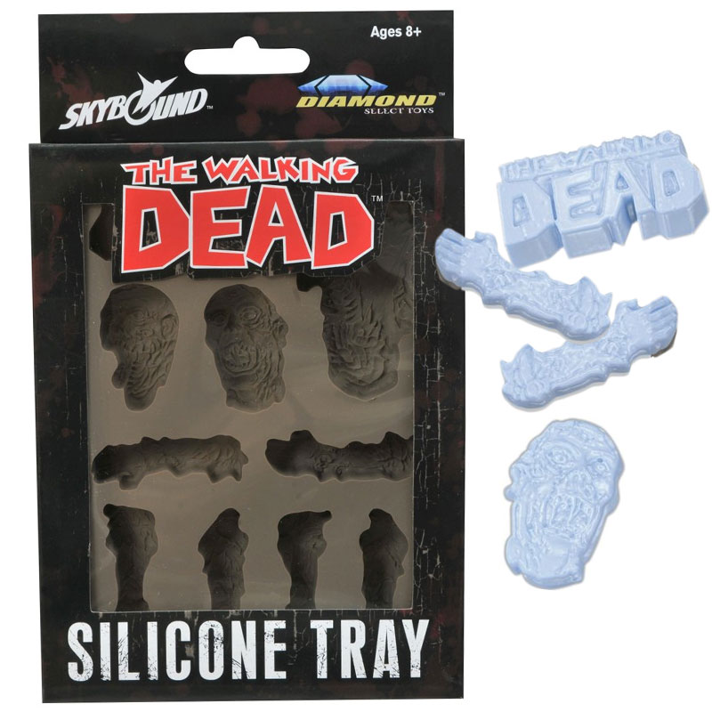 Gag Gifts - The Walking Dead Silicone Ice Tray