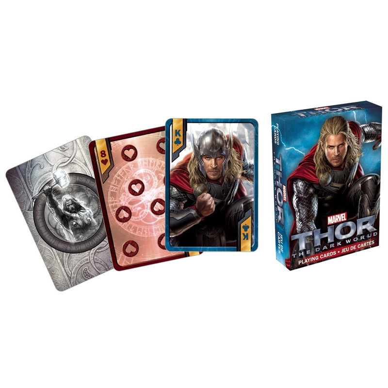 Gag Gifts - Thor The Dark World Playing Cards