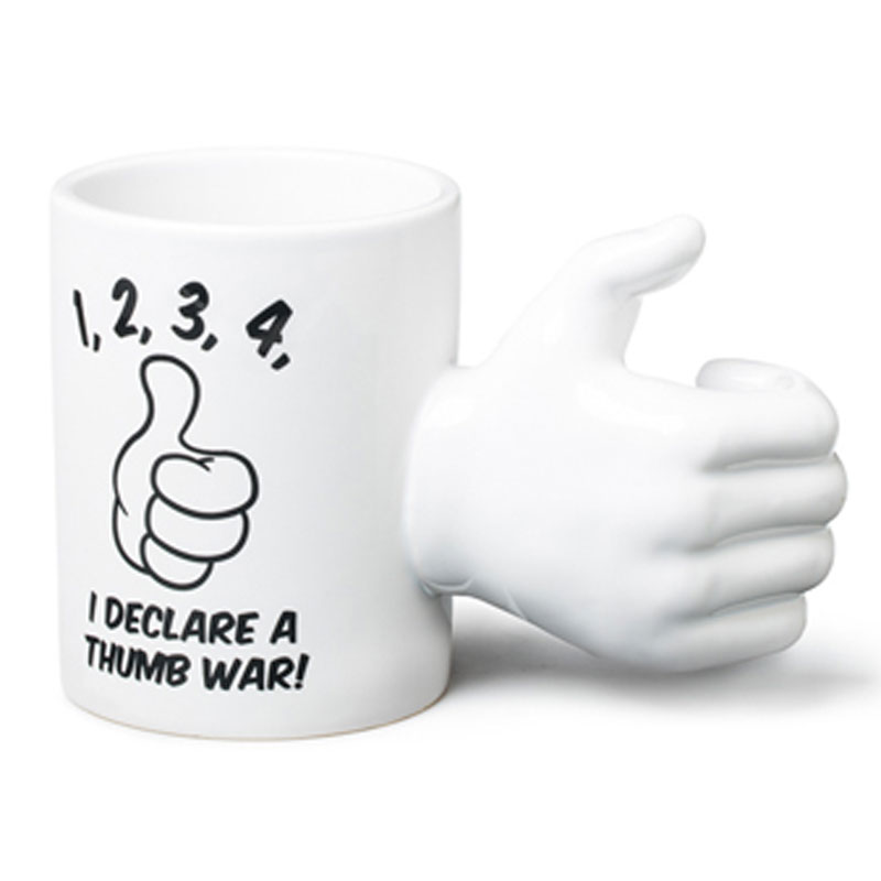 Gag Gifts - Thumb War Mug