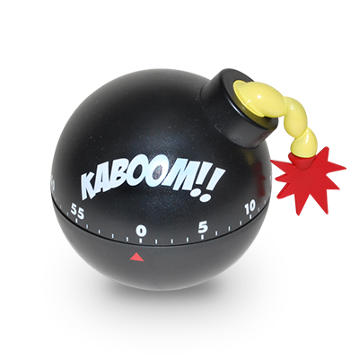 Gag Gifts - Tickin' Time Bomb Kitchen Timer