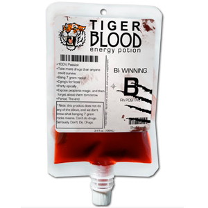 Gag Gifts - Tiger's Blood Drink