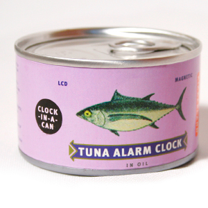 Gag Gifts - Tin Can Alarm Clock