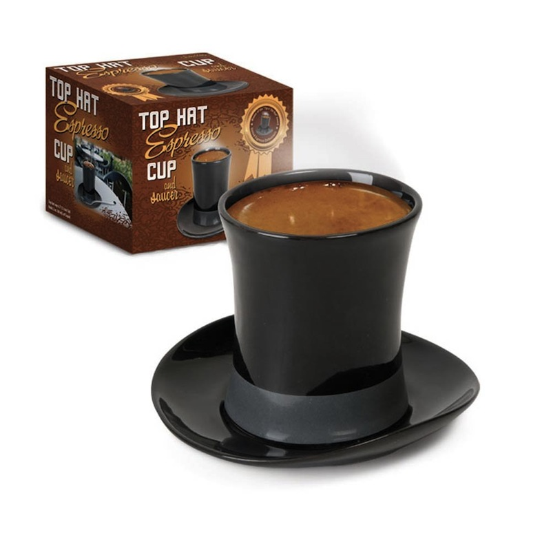 Gag Gifts - Top Hat Espresso Cup and Saucer