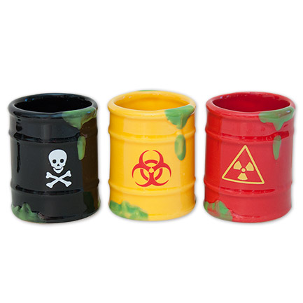 Gag Gifts - Toxic Waste Shot Glasses