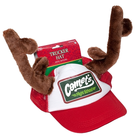 Gag Gifts - Trucker Hat with Antlers