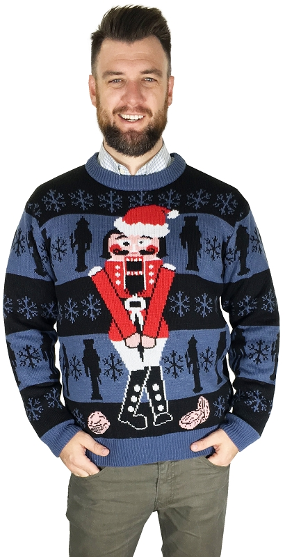 Gag Gifts - Ugly Christmas Sweater: The Nutcracker