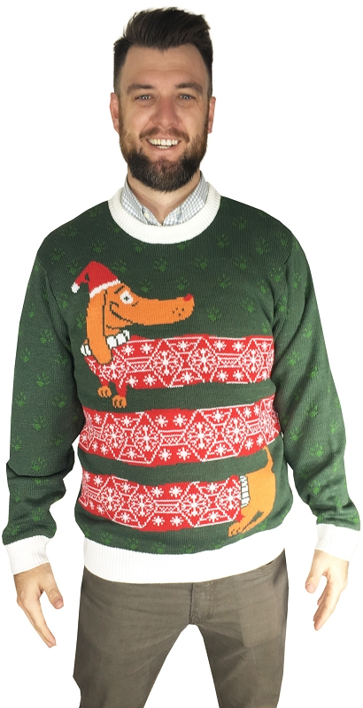 Gag Gifts - Ugly Christmas Sweater: Wienter is Here