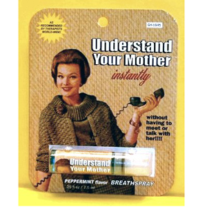 Gag Gifts - Understand Your Mother Instantly Breath Spray