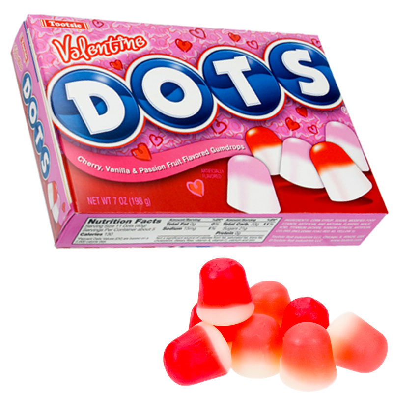 Gag Gifts - Valentine Dots Candy