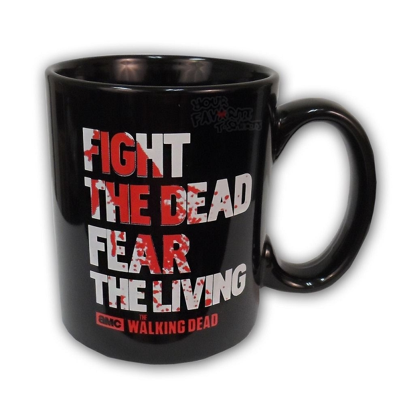 Gag Gifts - Walking Dead Mug: Color Changing