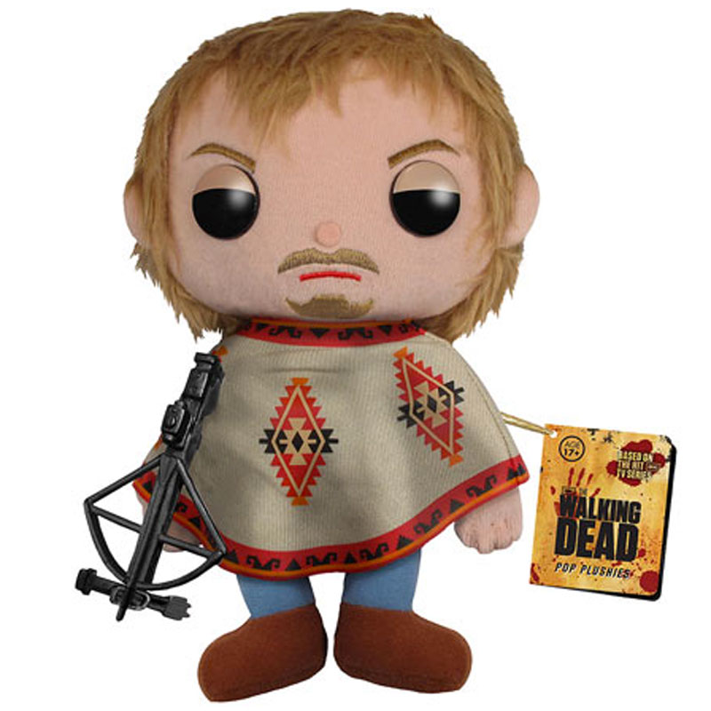 Gag Gifts - Walking Dead Plush Toy: Daryl Dixon