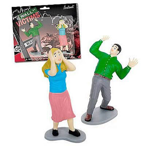 Gag Gifts - Wall Street Financial Victims Playset