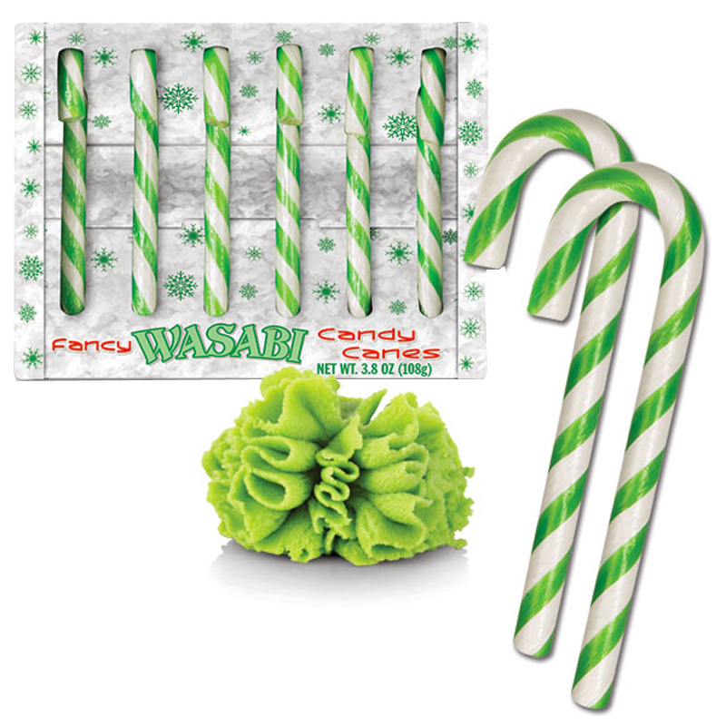 Gag Gifts - Wasabi Candy Canes