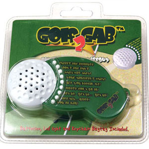 Gag Gifts - Wiseguy in your pocket - Golf Gab