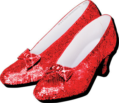 Gag Gifts - Wizard of Oz Shoes Magnet