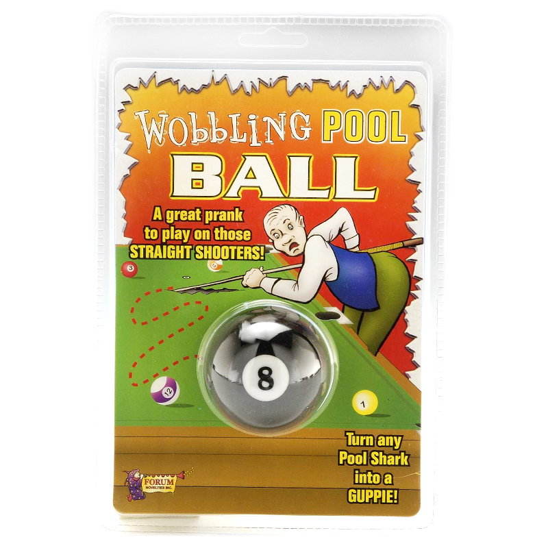 Gag Gifts - Wobbling Eight Ball Prank