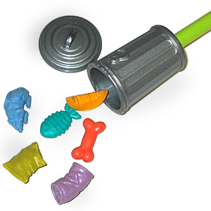 Gag Gifts - Write Trash Garbage Erasers