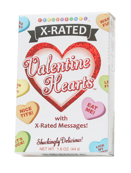 Gag Gifts - X-Rated Valentine Hearts
