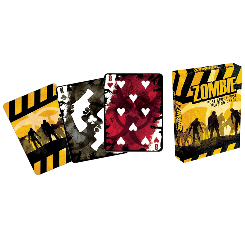 Gag Gifts - Zombie - Post Apocalypse Playing Cards