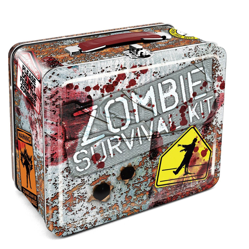 Gag Gifts - Zombie - Survival Lunch Box