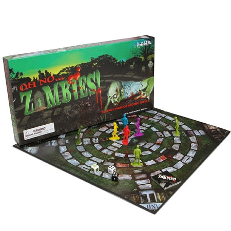 Gag Gifts - Zombie! Attack Board Game
