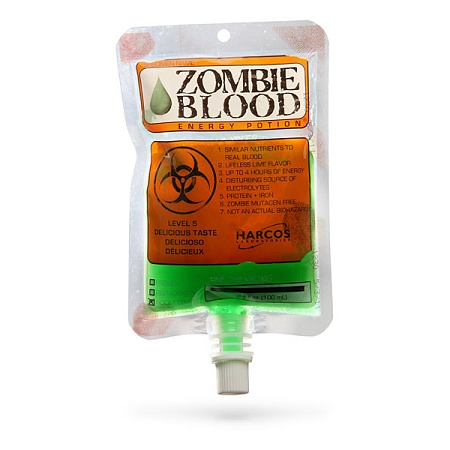 Gag Gifts - Zombie Blood Energy Drink