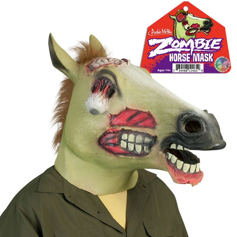 Gag Gifts - Zombie Horse Mask