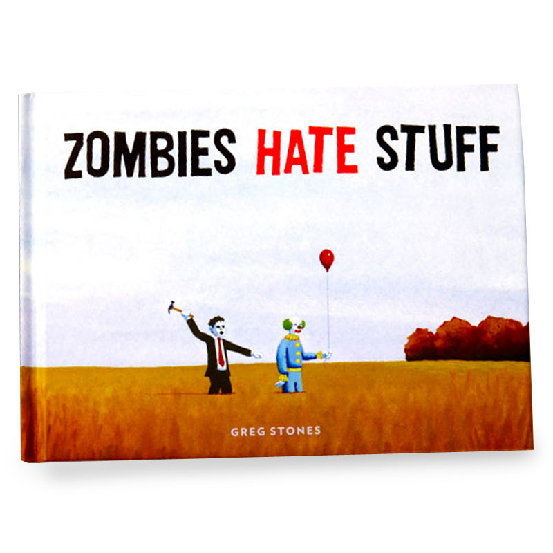 Gag Gifts - Zombies Hate Stuff Book