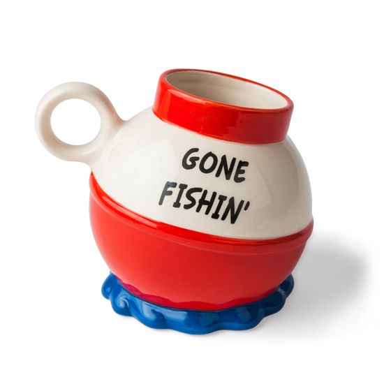 Gag Gifts - gone fishin' Bobber Mug